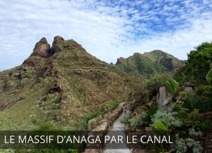Ténérife - le massif d'Anaga par le canal