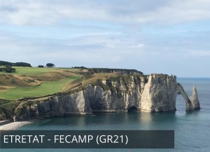Etretat - Fécamp (Les falaises d'Etretat) - GR21