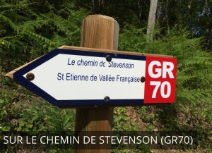 Chemin de Stevenson et le GR 70