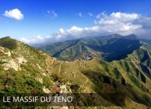 Ténérife - Le massif du Teno