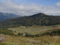Vue sur les montagnes du parc Biogradska Gora