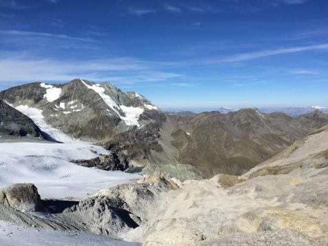Vers le sommet du Barrhorn