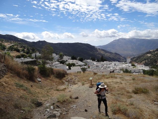 Départ depuis Capileira
