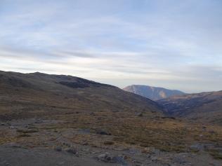 La Sierre Nevada au petit matin