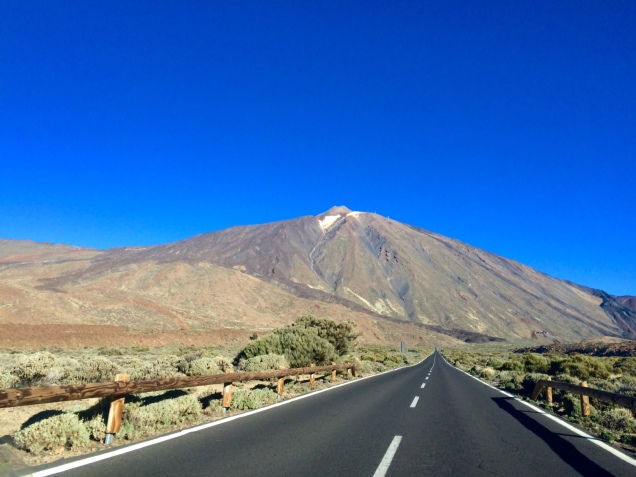 Superbe vue sur le Teide