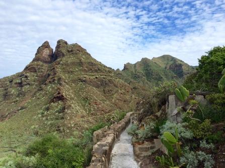 Le canal du retour vers Punta del Hidalgo