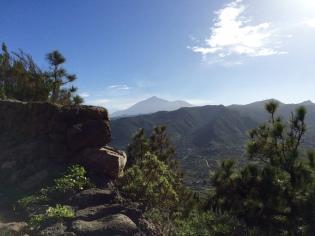 Vue sur le Teide
