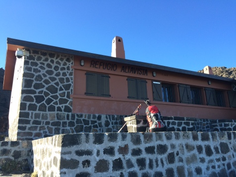 Le refuge Altavista