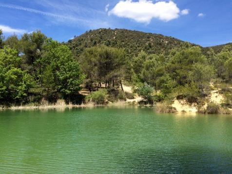 Plan d'eau du vallon de Jacquas
