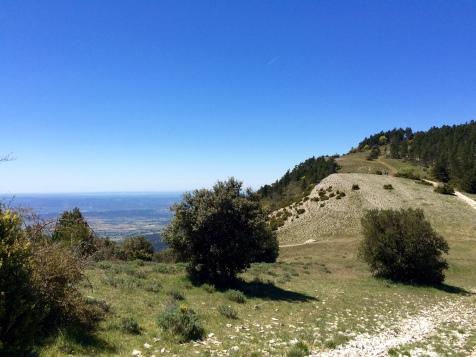 Sur les crêtes du Luberon