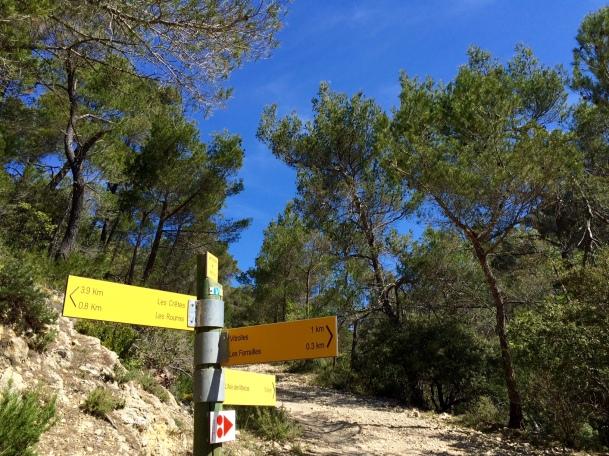 Panneau de directions et de kilométrages