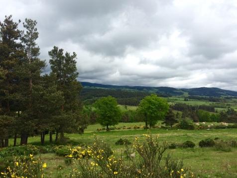 La Margeride dans les nuages
