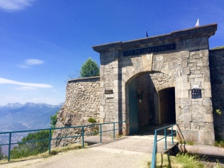 L'entrée du Fort du Saint Eynard