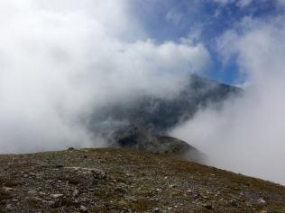Dans les nuages au Skourta
