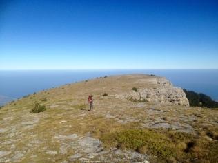 En chemin vers Gortsia sur le sentier Anathema