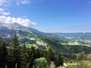 Sur le GR 91 - GRP Tour des quatre montagnes en direction des Allières