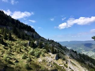 Sur le GR 91 - GRP Tour des quatre montagnes