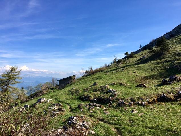 La baraque du Col Vert