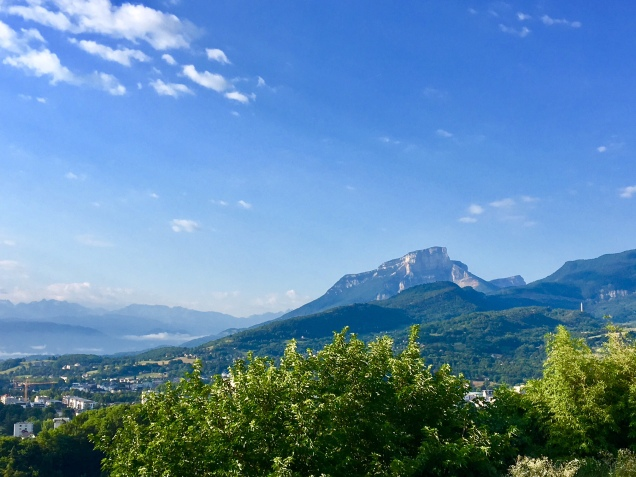 En quittant Chambéry