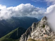 Au sommet de la Pointe d'Arcalod