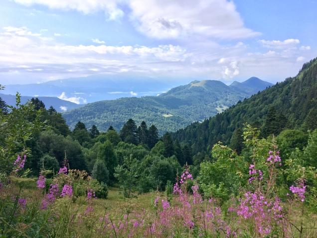 La beauté des paysages des Bauges