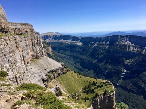 Le canyon d'Ordesa depuis la Faja de las Flores