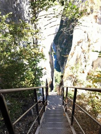 Les escaliers de la Brèche Imbert