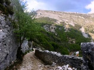 En montant vers le Col de Chironne