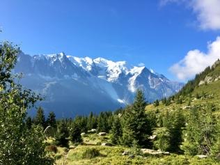Sur le Grand Balcon en direction du Col des Montets
