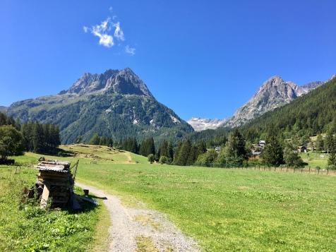 Le Mont Oreb et les Aiguilles de Praz Torrent depuis Vallorcine