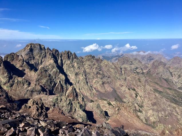 Au sommet du Monte Cinto (2706 mètres)