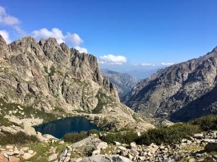 Vue sur le lac de Capitello