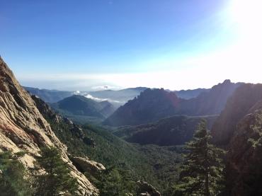 Les paysages depuis la variante alpine du GR 20
