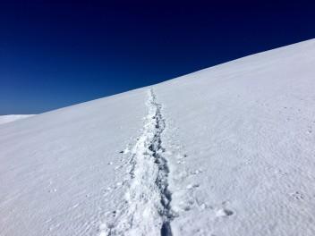 Passage par l'épaule du Mont Blanc du Tacul