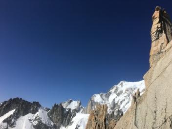 Vue sur le Mont Blanc depuis le Roi de Siam