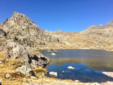 Le lac Long Supérieur à côté du refuge des Merveilles