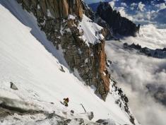Un peu avant le Mont Blanc de Courmayeur