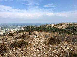 Sur le plateau en direction de la gorge de Badarel