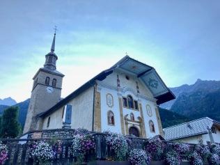 L'église des Contamines-Montjoie