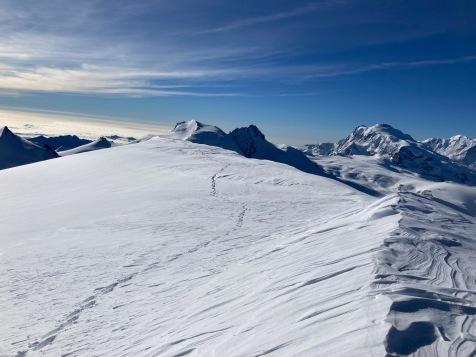 Le sommet de l'Alphubel (4206 mètres)